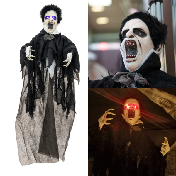 HALLOWEEN VAMPIRE - 90 CM - WITH LIGHT AND SOUND