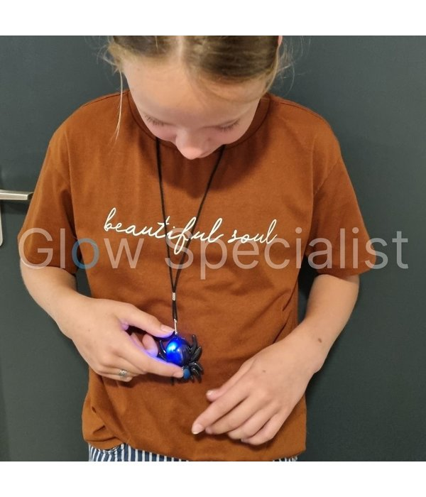 HALLOWEEN LED SPIN NECKLACE