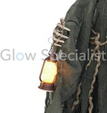 HALLOWEENSMALL WITCH - WITH LED LANTERN
