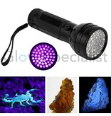 - Glow Specialist UV FLASHLIGHT 51 LED - 395NM