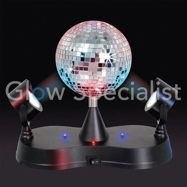 LED TWIN PROJECTOR DISCO LAMP