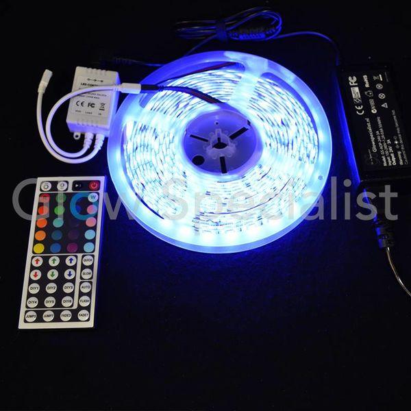 LEDSTRIP RGB - 24V - 5 METER - INCL. CONTROLLER