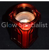 GRAVE CANDLE - RED - 20 CM