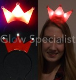LED Diadem with Crown