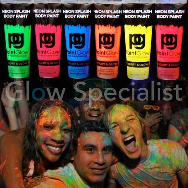 PAINTGLOW NEON SPLASH BODY PAINT - 250 ML