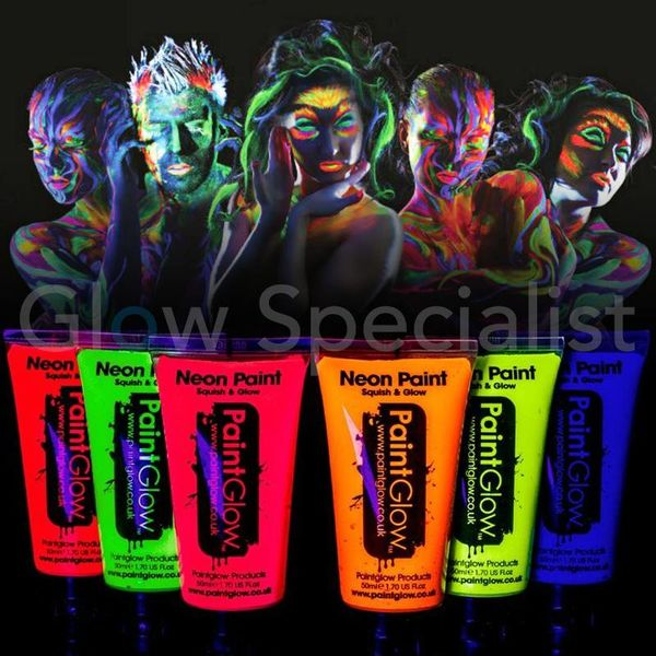 PAINTGLOW UV Face & Body Paint - 50 ML