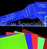 UV / BLACKLIGHT NEON ACRYLIC SHEET - 67 x 50 CM