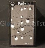 Party lights - white - 10 LEDs