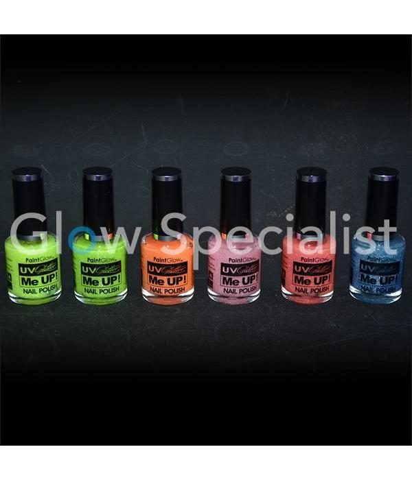- PaintGlow PAINTGLOW UV GLITTER ME UP NAGELLAK