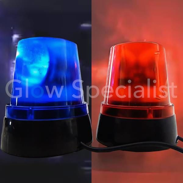 MINI POLICE LIGHT - BLUE OR RED