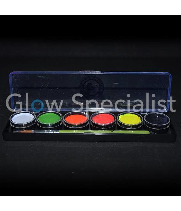 - Cameleon CAMELEON UV ADULT PARTY BOX PALET - 6 KLEUREN