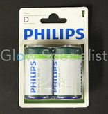 Philips PHILIPS BATTERIES R20 - MONO - 2 PIECES