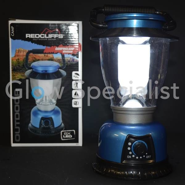 LED CAMPING LANTERN DIMMABLE - 6 LED