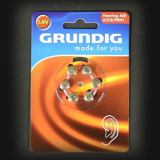 Grundig GRUNDIG BATTERY A312 / PR41 1.4V 6 PIECES