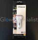 Polaroid DOUBLE USB CAR CHARGE LUMINESCENT