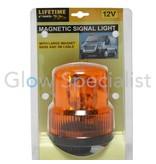 Lifetime MAGNETIC ORANGE SIGNAL LIGHT - WITH 12V CAR CHARGER