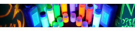 UV Paints and bubble fluids