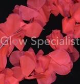 UV/BLACKLIGHT HAWAIIAN NECKLACE - PINK