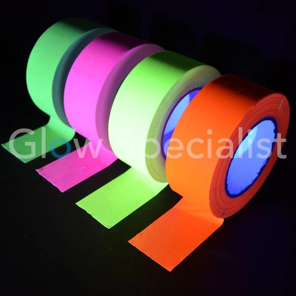 UV / BLACKLIGHT NEON TAPE - 50 MM x 25 M