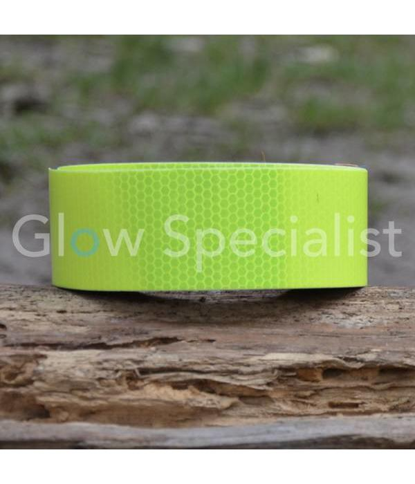 REFLECTIVE SAFETY MARKING TAPE - YELLOW - 50mm x 25M