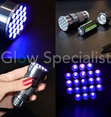 UV LED FLASHLIGHT 21 395-400nM