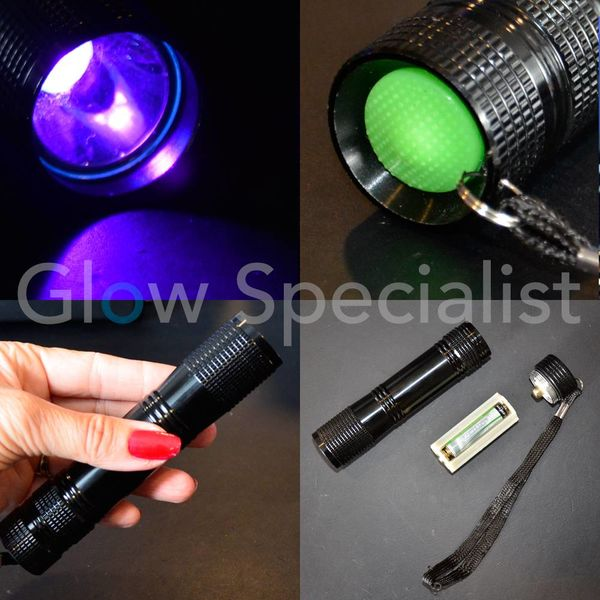 UV TORCH 3 WATT - 395 NM - AAA MODEL