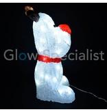 LED REINDEER ACRYLIC 60 LED - 44 CM