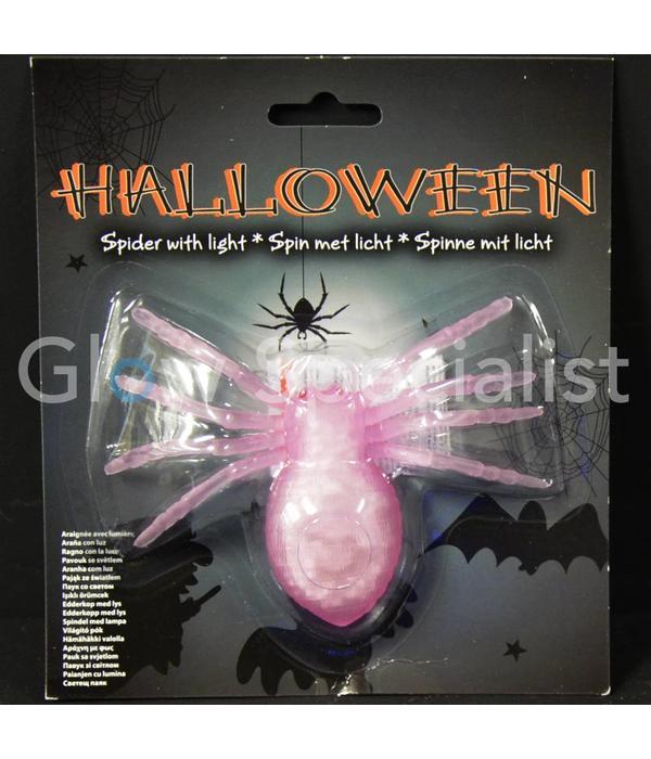 HALLOWEEN FLASHING LED SPIDER