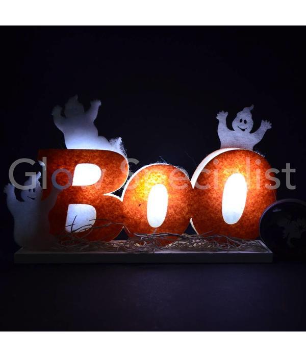"""HALLOWEEN LED DECORATIE """"BOO"""""""
