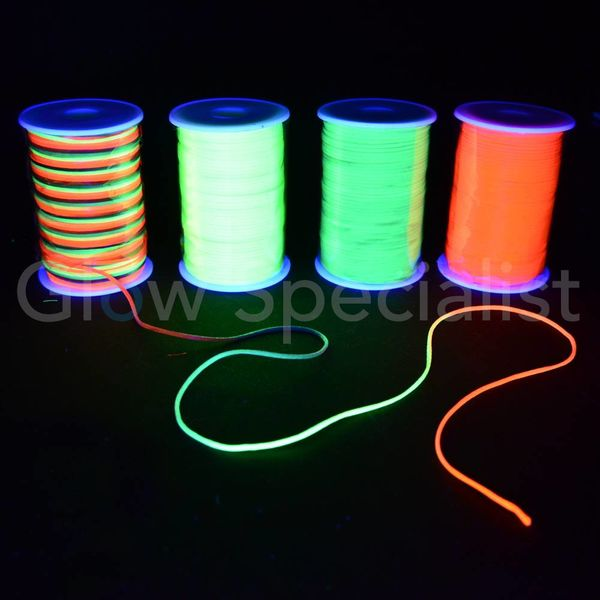 UV NEON NYLON KOORD - 2 MM x 100 M