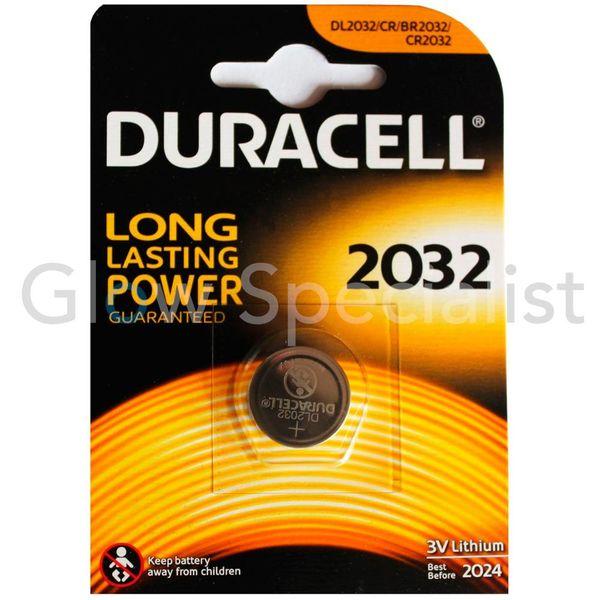 DURACELL 3V LITHIUM KNOOPCELBATTERIJ 2032