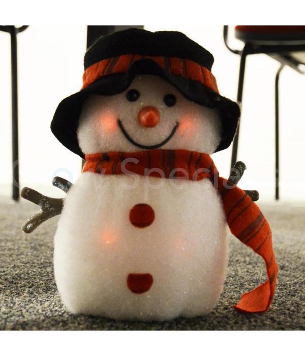 LED FLASHING SNOWMAN