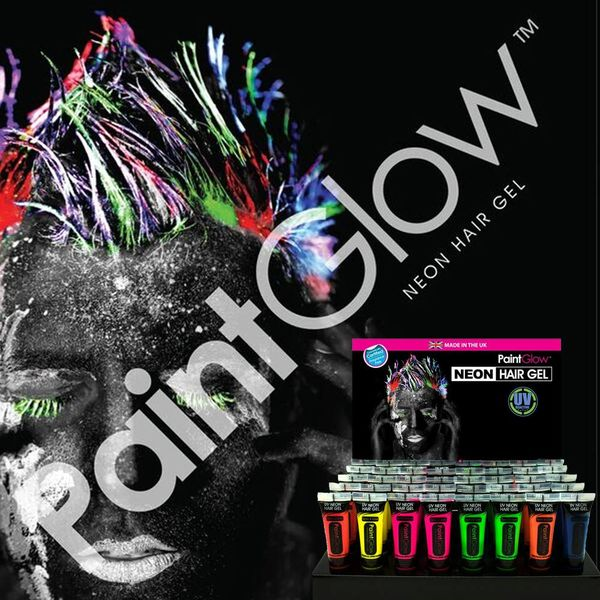 PAINTGLOW UV NEON HAIR GEL