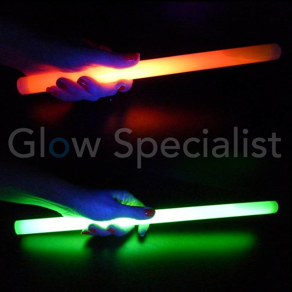 "GLOW STICK 12"" - 30 CM X 2 CM - 5 PIECES"