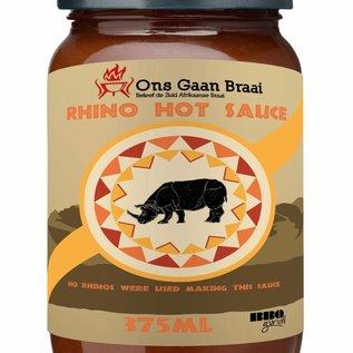 Rhino hot saus