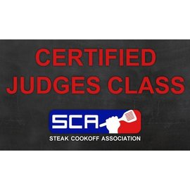 SCA steak Cooking  & Jury class