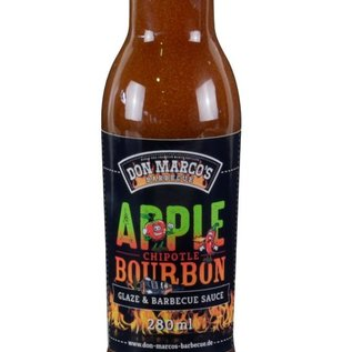 Don Marcos Don Marco's Apple/Chipotle/Bourbon saus