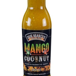 Don Marcos Don Marco's Mango/Habanero/Coconut saus