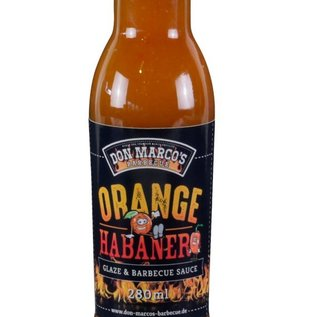 Don Marcos Don Marco's Orange Habanero  saus