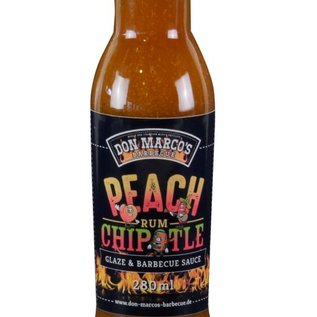 Don Marcos Don Marco's Peach Chipotle Rum saus