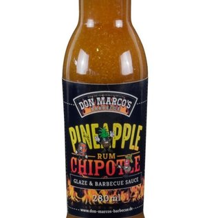 Don Marcos Don Marco's Pineapple Chipotle Rum saus