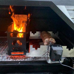 Home Fires Homefires Spit Rack voor de Braai compleet