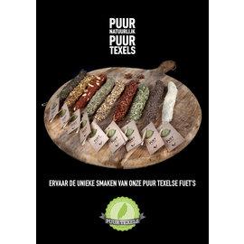 Puur Texels Fuet worst 9 verschillende smaken