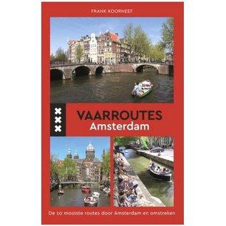 Hollandia boekwerk met de vaarroutes van Amsterdam