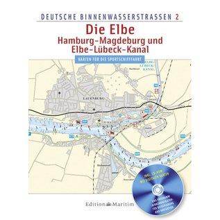 Delius Klasing Vaarkaart Duitsland – Elbe, Hamburg, Magdeburg en Elbe-Lübeckkanaal