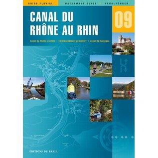 Editions du Breil Vaarkaart Frankrijk Rhône au Rhin