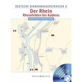 Delius Klasing Deutsche Binnenwasserstrassen 6: Rijn: Reinfelden - Koblenz