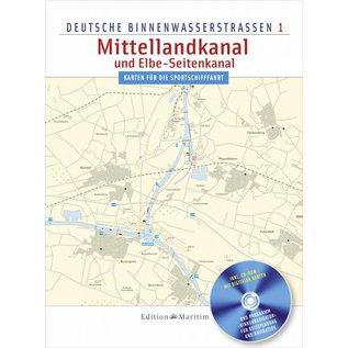 Delius Klasing Vaarkaart Duitsland – Mittellandkanal en Elbe Seitenkanal