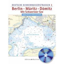 Delius Klasing Deutsche Binnenwasserstrassen 3: Berlijn , Müritz , Dömitz