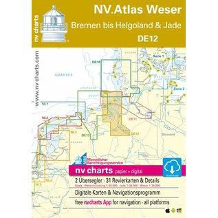 NV Verlag Duitsland DE 12 – Bremen tot Helgoland en Jade